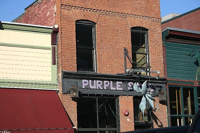 Purple sage building