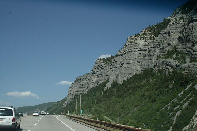 Provo canyon view