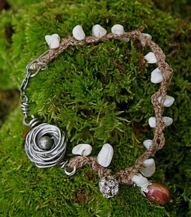 Tumbled Shell Bracelet