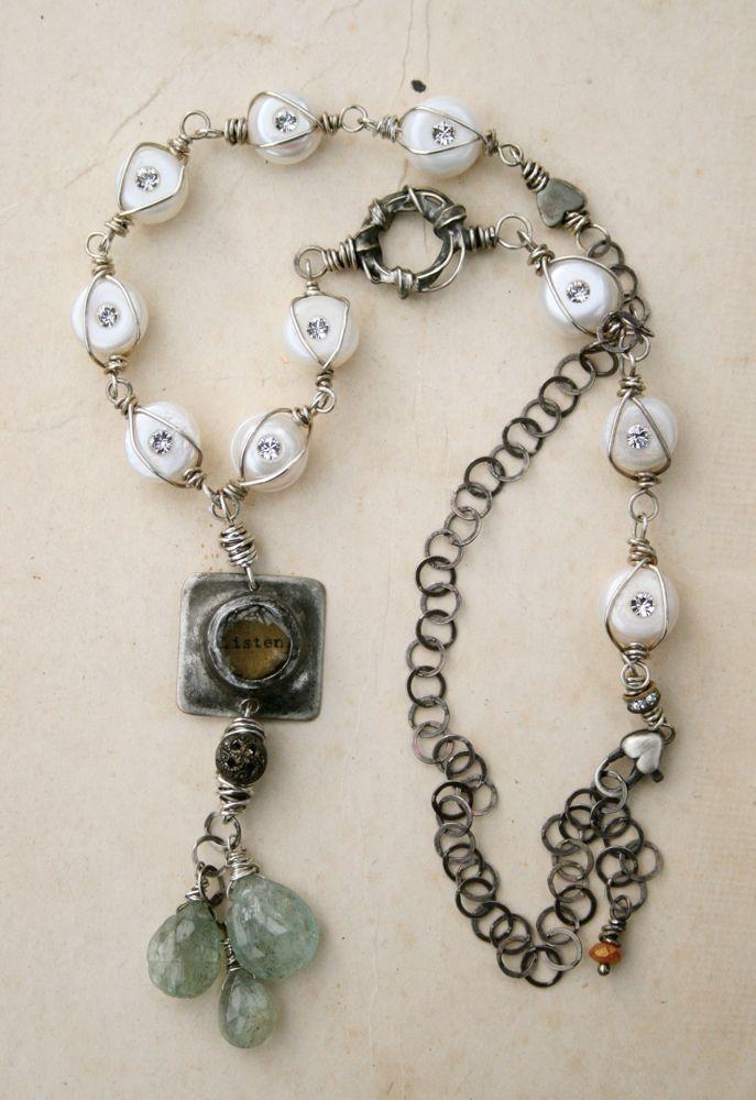 Listen Necklace