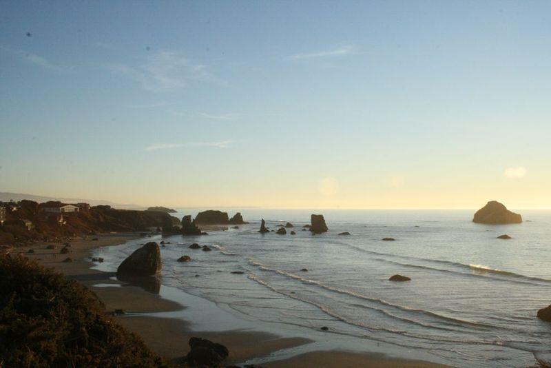 Oregon coast line 1