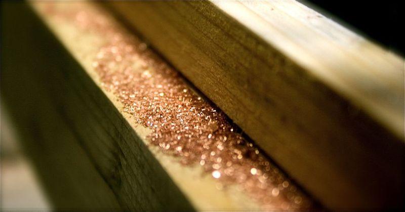 Copper glitter 2
