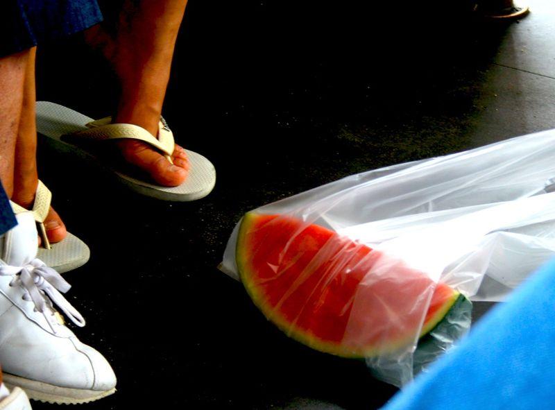 Trolley melon