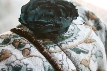 Blue flower gift
