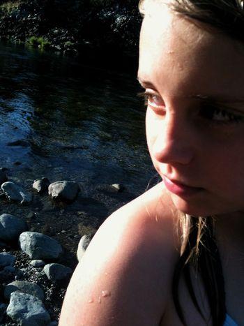 Anna in sun