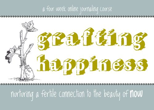 Grafting happiness logo