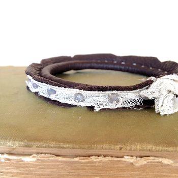Leather cuff 2
